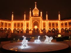 """Merry Christmas & Happy New Year 2013"" - Tivoli by Night I"" - C by <b>Jan Sognnes</b> ( a Panoramio image )"
