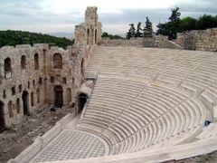 GRECIA Odeon de Herodes Atico Acrpolis de Atenas by <b>Talavan</b> ( a Panoramio image )
