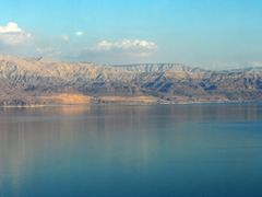 Winter paints  of  the Dead Sea ... by <b>nadiakushnir</b> ( a Panoramio image )