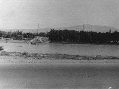 Сыр-Дарья весной 1964 года в районе улицы Запорожье у быков стар by <b>Rasikh Atamanov</b> ( a Panoramio image )