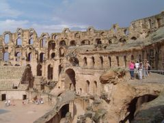 TUNEZ  Anfiteatro Romano El Jem by <b>Talavan</b> ( a Panoramio image )
