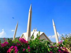 Shah Faisal Mosque Islamabad Pakistan by <b>sanaullah </b> ( a Panoramio image )