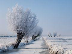 Winter wonderland, Kinderdijk by <b>© BraCom (Bram)</b> ( a Panoramio image )