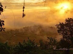 Puesta de sol desde Guadalupe, Zarcero, Costa Rica by <b>Melsen Felipe</b> ( a Panoramio image )