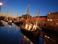 Visita al presepe sulle barche-Cesenatico (FC) by <b>Giovanni-Casadio</b> ( a Panoramio image )