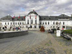 Grassalkovich-kastely, Pozsony ( ma elnoki palota) by <b>zanot10 - NO VIEWS</b> ( a Panoramio image )