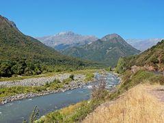 """Vista  """"Rio Teno"""" y  """"Ruta J-55""""  """"Los Quenes""""   """"Cordillera de  by <b>Omar Gobbi</b> ( a Panoramio image )"""