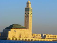 Mosquee Hassan II by <b>elakramine</b> ( a Panoramio image )