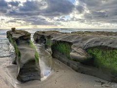La Jolla Coastal Rocks, California by <b>Elena Omelchenko</b> ( a Panoramio image )