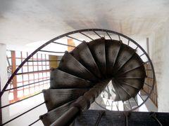 Museo C.A.S.A en San Agustin Etla  Escalinata antigua de hierro  by <b>marcel_pics</b> ( a Panoramio image )