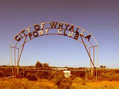 Whyalla Pony Club - Whyalla, South Australia by <b>nipper30</b> ( a Panoramio image )