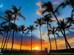 Hawaii Sunset by <b>Joe_Lourenco</b> ( a Panoramio image )