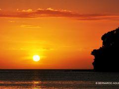 Watching the Sunset, Dakak Park & Beach Resort, Dapitan, Zamboan by <b>Silverhead</b> ( a Panoramio image )