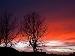 Sunset - Denmark by <b>Gitte13</b> ( a Panoramio image )