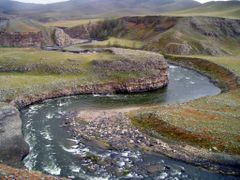 Chuluut meandering by <b>ratschan</b> ( a Panoramio image )