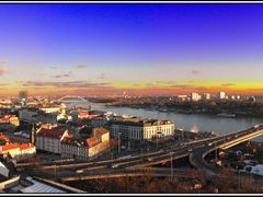 Bratislava from the castle by <b>&ri.co</b> ( a Panoramio image )