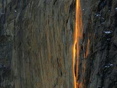 Horsetail Falls at Sunset  (Facebook: JeffSullivanPhotography) by <b>JeffSullivanPhotography</b> ( a Panoramio image )