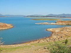 """Vista del """"Lago Colbun"""" desde la """"Ruta 115""""  """"El Colorado""""  """"Reg by <b>Omar Gobbi</b> ( a Panoramio image )"""