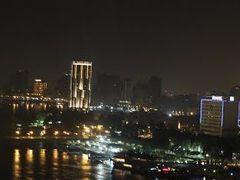 Cairo skyline @ night ( please enlarge ) by <b>Dr.Azzouqa</b> ( a Panoramio image )