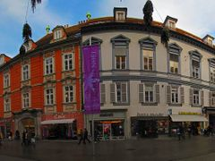 AUT Graz Herrengasse {-3c} Panorama by KWOT by <b>KWO Tsoumenis</b> ( a Panoramio image )