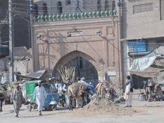 Peshawar,Beriskian Gate (Sar Assya Gate) by <b>JanGasior</b> ( a Panoramio image )