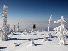 ZIMA NA HRANICI,  Czech-Poland state boundary ... by <b>PROTI VETRU  (Against the Wind)</b> ( a Panoramio image )