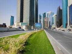 Towers on Doha West Bay by <b>S?ren Terp</b> ( a Panoramio image )