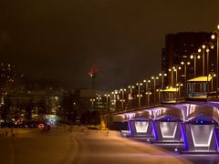 The New Year Kuokkala Bridge, 1.1.2013, 00:30 by <b>jknaus</b> ( a Panoramio image )