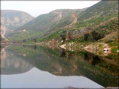 Ziglab Dam in North Jordan  ....{by Bassam} by <b>~Bassam</b> ( a Panoramio image )