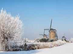 Kinderdijk by <b>© BraCom (Bram)</b> ( a Panoramio image )