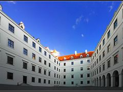 Bratislava Castle, Courtyard by <b>&ri.co</b> ( a Panoramio image )