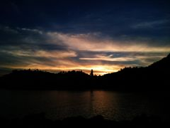 Sunset in Manzanillo Colima- Hotel las Hadas by <b>~?JENNY?~</b> ( a Panoramio image )