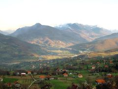 Andrijevica in autumn from Zeljevica hill by <b>Guberinic Marko</b> ( a Panoramio image )