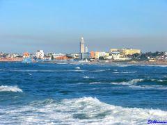Casablanca, Ain Diab Beach by <b>elakramine</b> ( a Panoramio image )