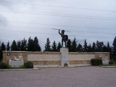 "Leonida""s Monument 1, Thermopyles, Greece by <b>Misa M.</b> ( a Panoramio image )"