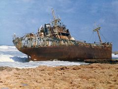 Tocra (Tukrah): MS Prosna - 1981 by <b>Maciejk</b> ( a Panoramio image )