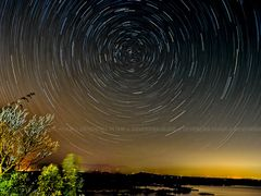 STARTRAIL..AT KARAANG by <b>Devendra_Hijam</b> ( a Panoramio image )