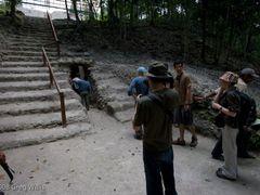Going beneath Jaguar Paw Temple, Mirador - [greg-willis.com] by <b>Greg Willis</b> ( a Panoramio image )