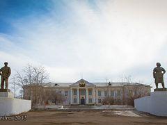 "Гусиноозерск.ДК""Шахтер"" by <b>Andrei Ogorodnik</b> ( a Panoramio image )"