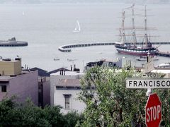 Welcome to San Francisco {View to Harbor from Corner Hyde-, Fran by <b>Merz_Ren?</b> ( a Panoramio image )