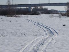 Следы на снегу #4 by <b>Serge_L</b> ( a Panoramio image )