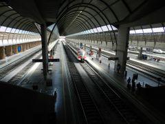 """""""Estacion de trenes de Santa Justa. Sevilla"""" by <b>©Chaydee</b> ( a Panoramio image )"""