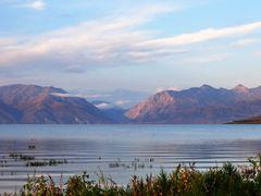 Токтогульское водохранилище by <b>AZART_007</b> ( a Panoramio image )