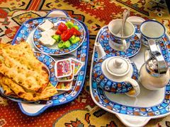 An Iranian Breakfast in a traditional hotel ! by <b>Ehsan1980</b> ( a Panoramio image )