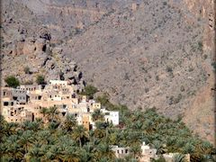The Old Village of Misfat Al-Abriyyin in Oman  ....{by Bassam] by <b>~Bassam</b> ( a Panoramio image )