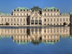 Belvedere  -  the castle of Prinz Eugen by <b>beyer99</b> ( a Panoramio image )