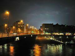 Bremen bei Nacht - (C) by Salinos_de HB by <b>Salinos</b> ( a Panoramio image )