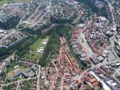Trebic city, Vysocina, CZ by <b>Junny08</b> ( a Panoramio image )