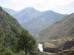 Obikhingow canyon by <b>Sergey Ilyukhin</b> ( a Panoramio image )