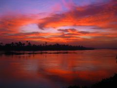3-Sunrise-from. Corniche El Nile Street . Asyut-by Eslam Khaled, by <b>Eslam khaled</b> ( a Panoramio image )